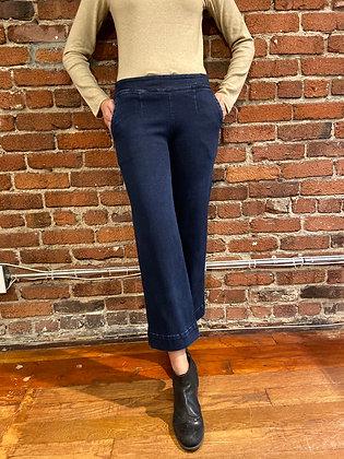 Wendy Denim Wide Pants