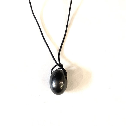 SM 50 Shungite Pebble Necklace