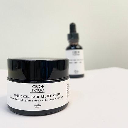 CBD+Nature Nourishing Pain Relief Cream