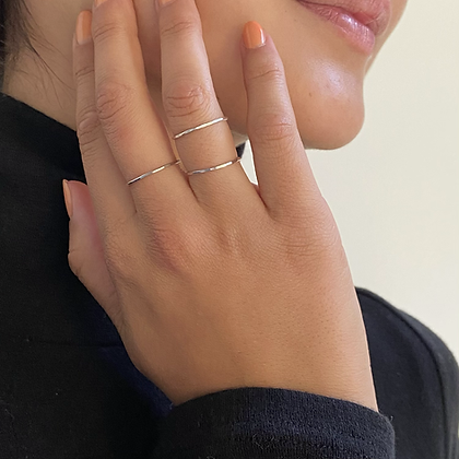 Stackable Promise Ring