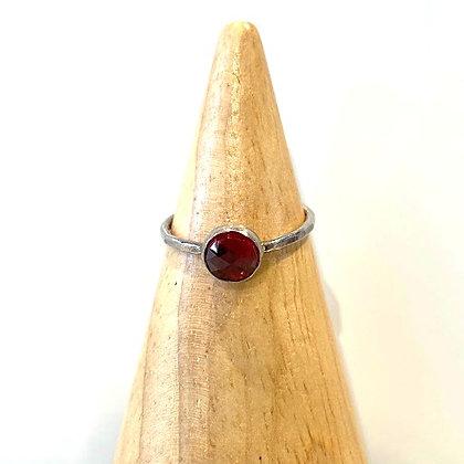 TW 69 Silver Gemstone Ring