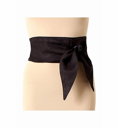 Tomo Satin and Sueded Belt