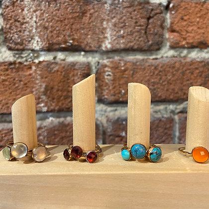 TW 19 Gemstone Rings