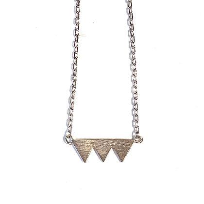 EL 15 Triple Triangle Necklace