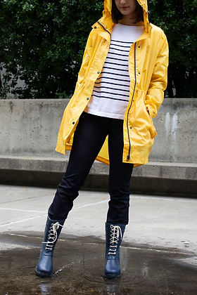 Hooded Rain Coat