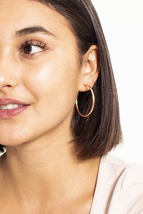 SM 20 Large Gold Hoop Earrings