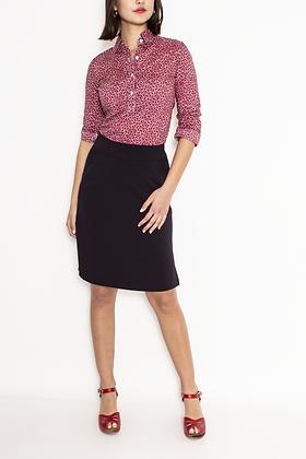 Lynette Gabardine Skirt