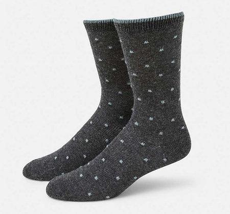 Cashmere Polka Dot Blend Sock