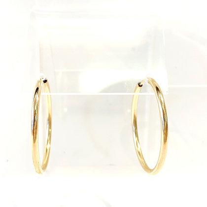 SM 17 Small Gold Hoop Earrings