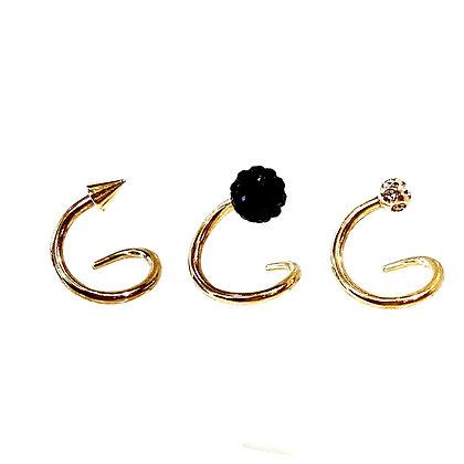 SE 20 Titanium Crystal Ear Coil