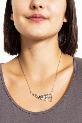 DH 248 Triangle Leaf Necklace
