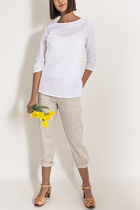 maurice natural pant outfit casual
