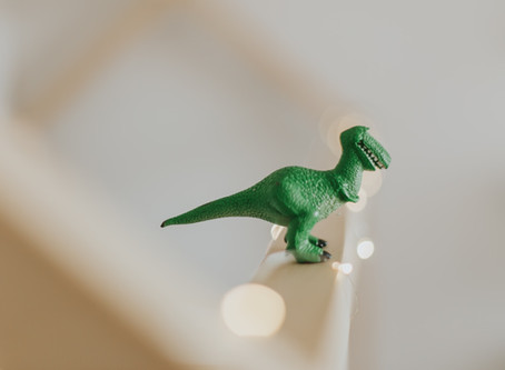 the friendly smoke-blowing dinosaur.