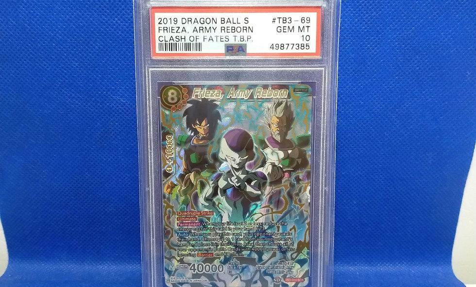 Dragon Ball Super / Series Three Clash Of Fates / Frieza Army Reborn Secret Rare