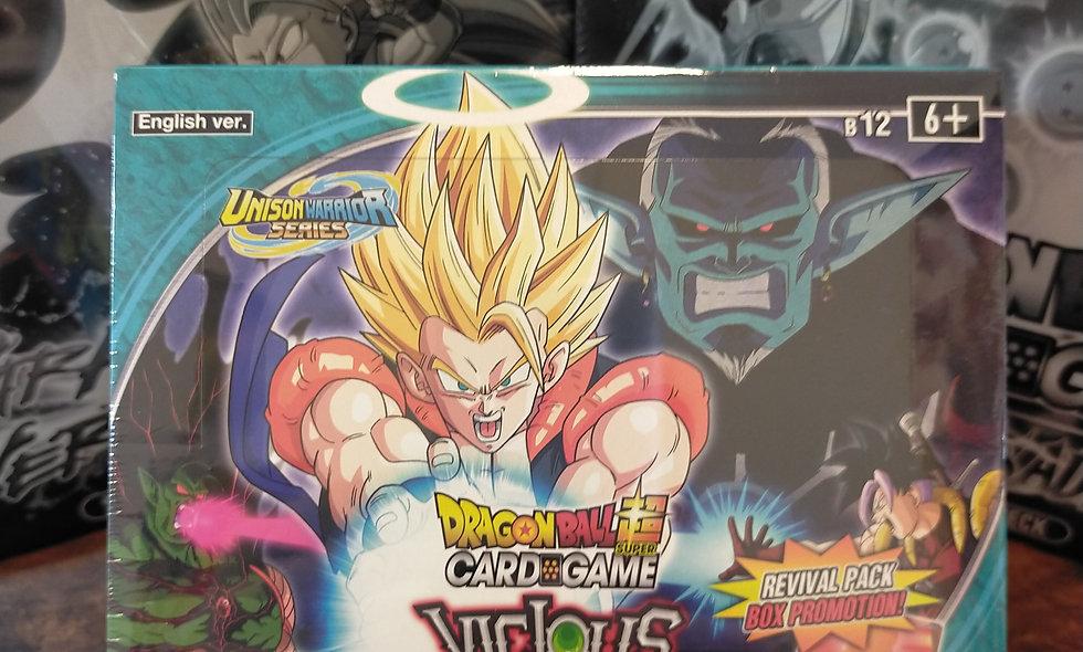 Dragon Ball Super Vicious Rejuvination Sealed Booster Box