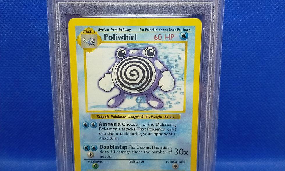 Pokemon Base Set / Shadowless Poliwhirl / PSA 10
