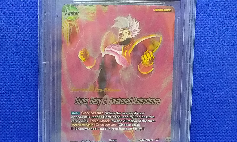 Series 8 Malicious Machinations / BGS 9.5 Super Baby 2 Pre Release Leader
