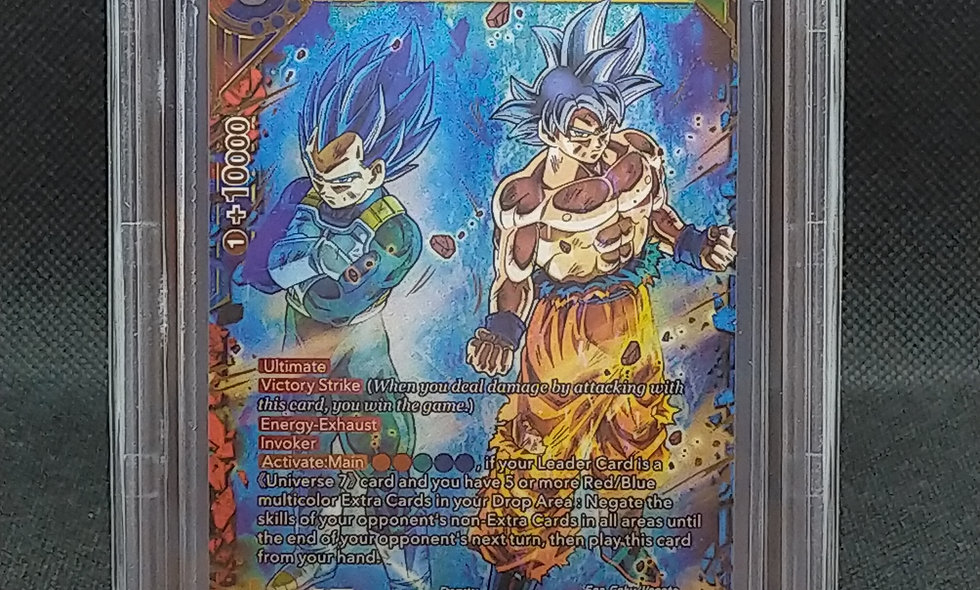 Dragon Ball Super Universal Onslaught / Apex Of Power / BGS 9.5