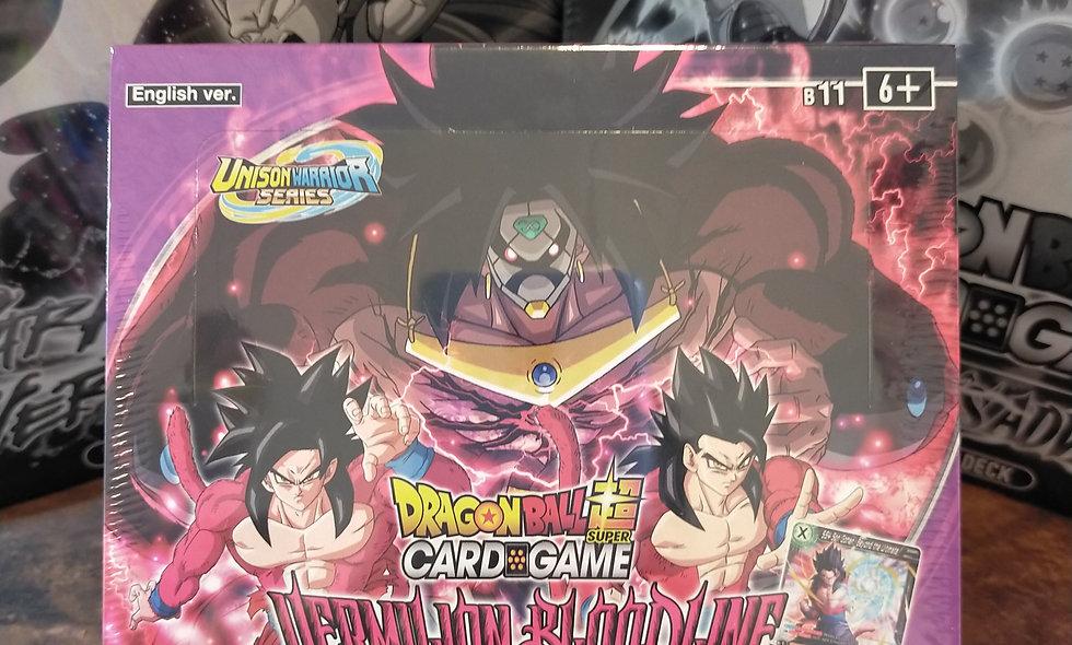 Dragon Ball Super Vermillion Bloodline Sealed Booster Box