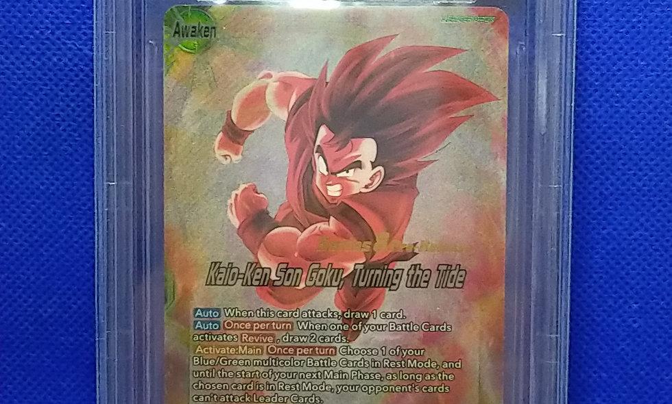 Series 8 Malicious Machinations / Kaio Ken Son Goku Turning the Tide Pre Release