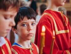 Ученики воскресных школ епархии встретили День защиты детей в Ахтубинске