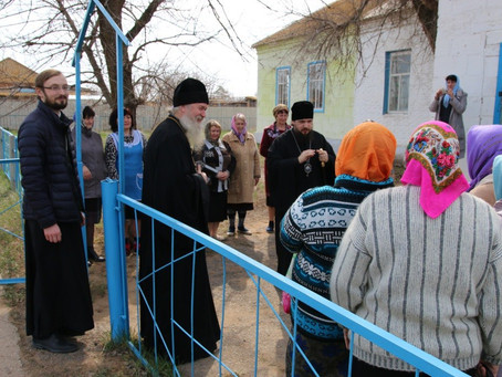 Правящий архиерей посетил Черноярское благочиние с пастырским визитом