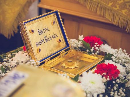 В Ахтубинской епархии пребывают мощи блаженной Матроны Московской