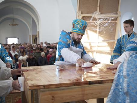 Состоялось освящение восстановленной церкви Введения во храм Пресвятой Богородицы в с.Солодники