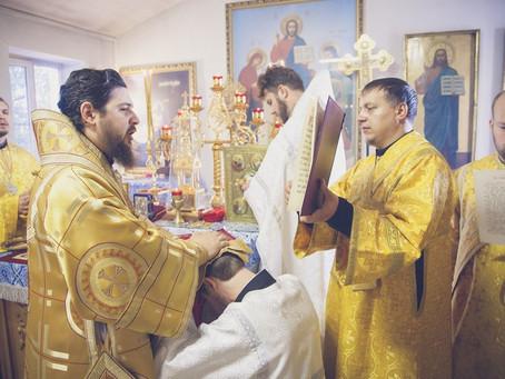 В минувшее воскресенье Владыка Антоний совершил иерейскую и диаконкую хиротонии