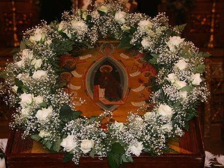 Владыка Антоний возглавил богослужение в субботу Акафиста в Никольском
