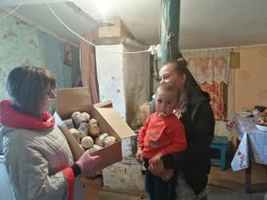 В Ахтубинской епархии продолжают поддерживать нуждающихся в период пандемии