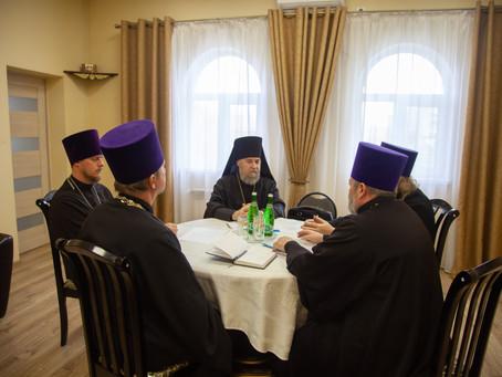 Состоялось первое совещание епископа Всеволода с благочинными епархии