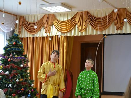 На приходах епархии продолжается празднование Рождества Христова