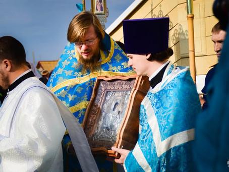 Празднование Иерусалимской иконы Божией Матери в Христорождественском монастыре