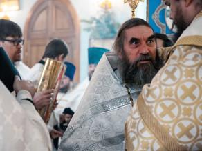 Клирики епархии поздравили архиерея с Рождеством Христовым