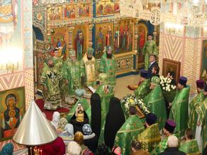 Владыка Антоний принял участие в торжествах по случаю тезоименитства митрополита Никона