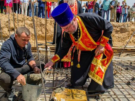 В с.Ступино Черноярского района заложен храм