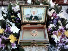 9 мая в Ахтубинск будет доставлен ковчег с частицей мощей святой блаженной Матроны Московской