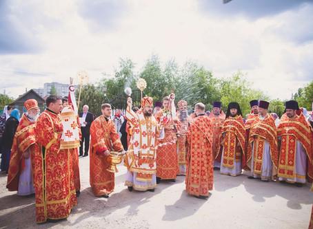 В Ахтубинске отметили третью годовщину со дня основания епархии