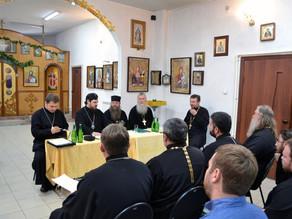 В епархии были образованы новые благочиния