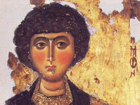 В Нариманов привезена икона целителя Пантелеимона, написанная на Афоне