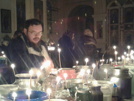 Праздник Богоявления на приходах епархии (фото)