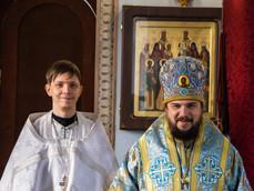 Владыка Антоний совершил иерейскую хиротонию дьякона Сергия Королькова.