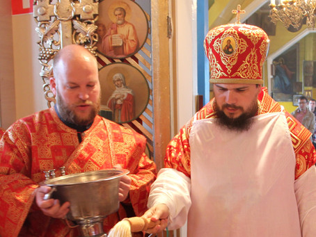 Епископ Ахтубинский и Енотаевский Антоний  совершил чин великого освящения храма в честь святого вел