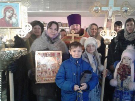Крестные ходы в честь новомучеников и исповедников Российских прошли на приходах Черноярского благоч