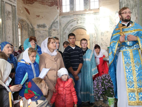 В с. Пришиб состоялись торжества по случаю престольного праздника
