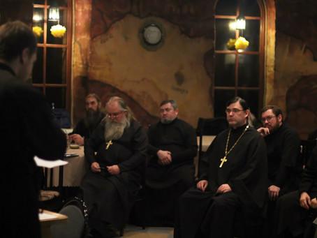 Близ села Растопуловка прошли курсы повышения квалификации духовенства Ахтубинской епархии