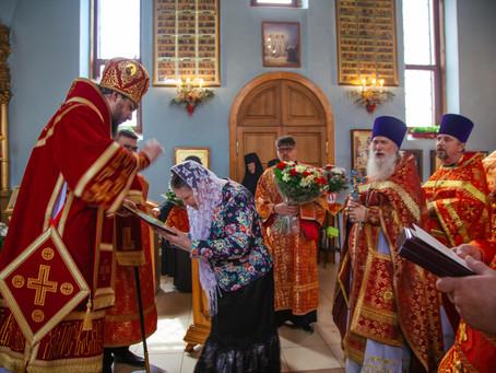 Клирики епархии поздравили правящего архиерея с Пасхой
