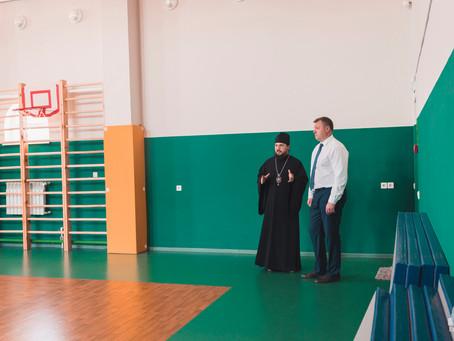 Врио губернатора посетил Духовно-просветительский центр Ахтубинской епархии