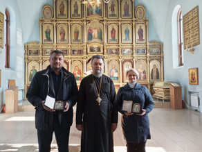 Состоялось знакомство епископа Всеволода с главами администраций района и города